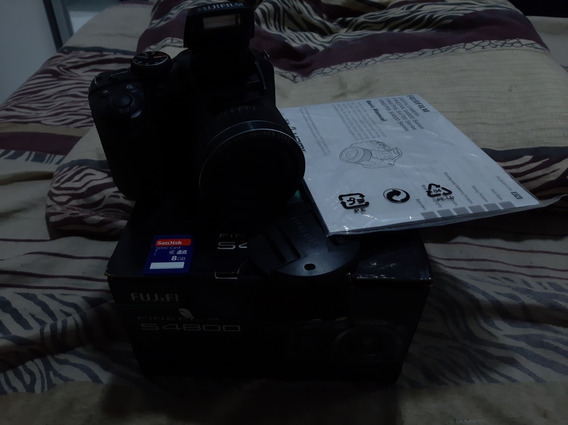 Câmera Semi Professional Finepix Fujifilm S4800