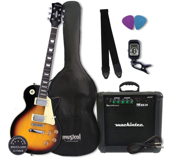 Kit Completo Guitarra Strinberg Les Paul Lps 230 Sb