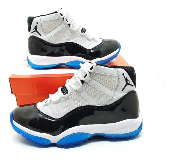 Tênis Masculino Nike Air Jordan 11 Bred Frete Grátis