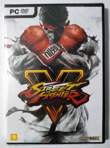 Street Fighter V Pc Mídia Física Novo Lacrado