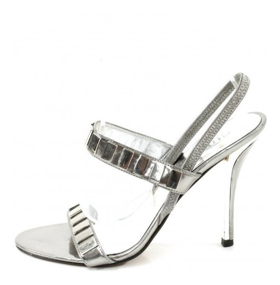 Zapatos Plateados Guess By Marciano