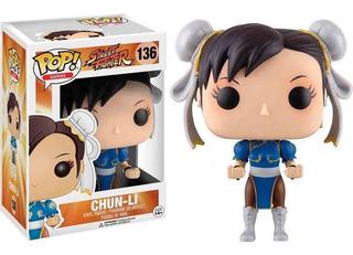 Funko Pop Street Fighter Chun-li 136 Original Cellplay