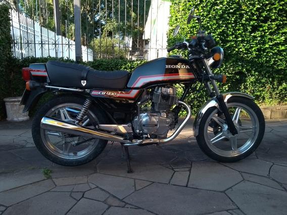 Honda Cb 400 - Japonesa - Baixou!
