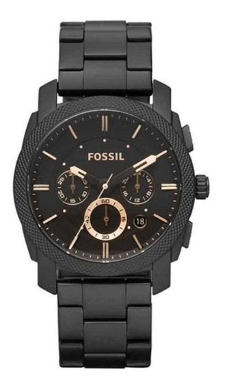 Relógio Masculino Technos Fs4682/1cn 42mm Aço Preto