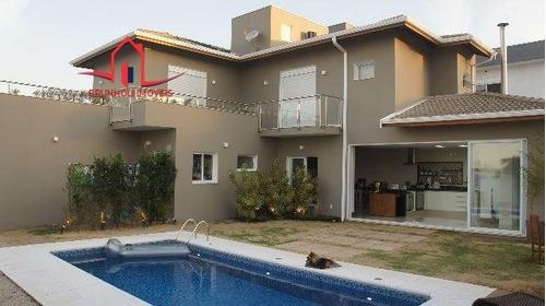 Casa A Venda No Bairro Condomínio Real Park Em Sumaré - Sp.  - 1254-1