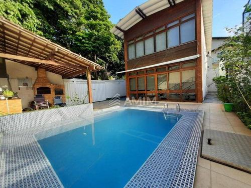 Imagem 1 de 30 de Casa À Venda, 200 M² Por R$ 1.350.000,00 - São Francisco - Niterói/rj - Ca0734