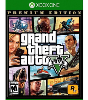 Grand Theft Auto V Premium Edition Gta Xbox One Incluye Mapa