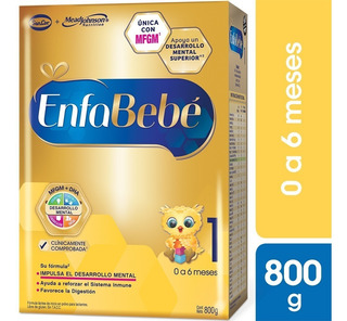 Enfabebe 1 Leche Infantil En Polvo Pack 6 Cajas X 800grs