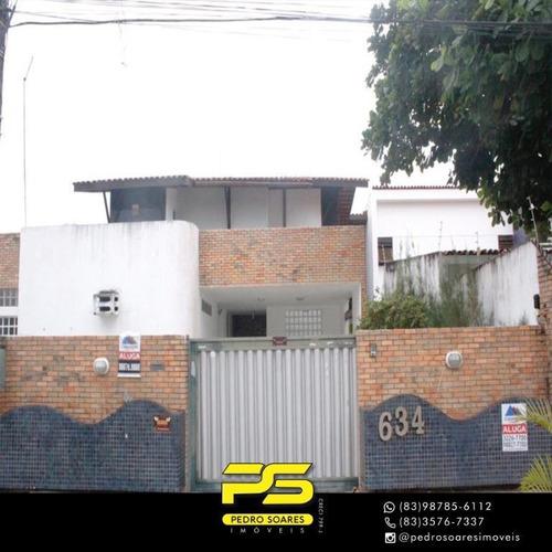 Casa Com 4 Dormitórios À Venda Por R$ 5.000.000,00 - Areia Dourada - Cabedelo/pb - Ca0729