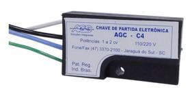 02 Partida Eletrônica Agc C4 1 A 2 Cv 110/220v