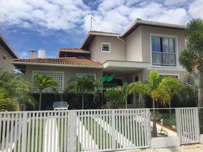Casa Com 3 Dormitórios À Venda, 220 M² Por R$ 775.000 Em Comdomínio Fechado - Ca2689