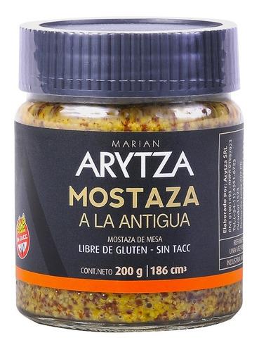 Mostaza Gourmet Arytza A La Antigua - 100%natural - Sin Tacc