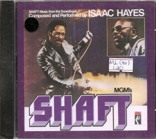 Cd Isaac Hayes - Shaft (soundtrack)