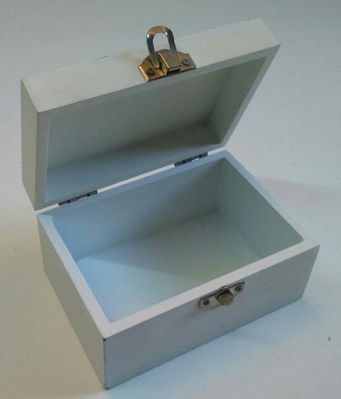 Caja Madera Miniatura Para Niños, 13 X 9 X 7cm Oferta!
