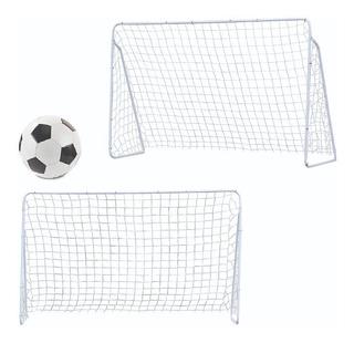 Combo 2 Arcos Futbol 200 X 150 Desarmable En Caja + Pelota