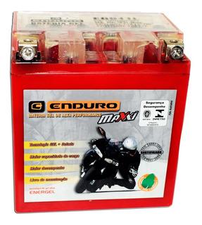Bateria Gel Moto Honda Cg Titan 150 125 Biz Factor Ybr