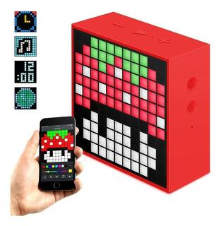 Parlante Bluetooth Portátil Divoom Timebox Mini 5w Radio Reloj - Cuotas