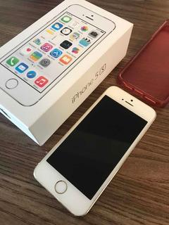 iPhone 5s Gold 16gb (a1457) - Usado Em Perfeito Estado