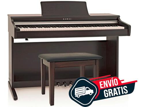 Piano Digital Kawai Kdp110 Con Mueble Y Pedalera 88 Envio