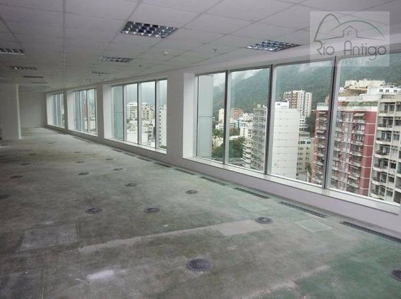 Locação Conjunto Comercial Lagoa Corporate, Rj. - Sa0537