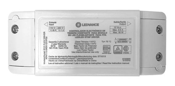 Ledvance - Driver Eco Flex Led 30w 2,5a Bivolt Ip20 7014780