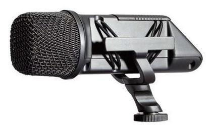 Imagem 1 de 5 de Microfone De Camera Esterio Cond/cardioide Videomic X/y-rode