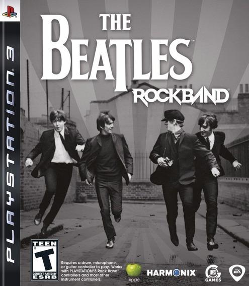 Jogo The Beatles Rockband Rock Band - Playstation 3 - Ps3