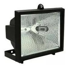 Refletor Retangular Brasfort 150w Bivolt P/ Lâmpada Halógena