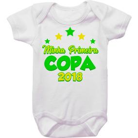 Body Bebê Primeira Copa Do Mundo 2018