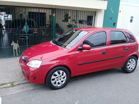 Gm/corsa Hatch Maxx 08/09 Vermelho 1.0 Flex Power Top!!!