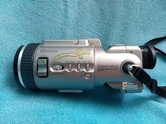 Câmera Digital Sony Cyber Shot Dsc F 707 Bem Conservada Rara