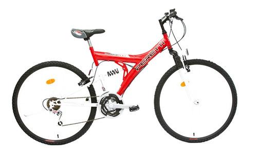 Bicicleta Mountain Bike Doble Suspencion 21 Vel Rodado 26