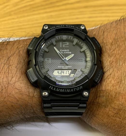 Relógio Casio Illuminator Tough Solar Aq-s810w Usado