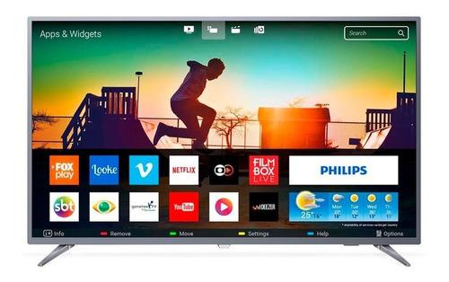 Smart Tv Led 50 Philips 50pug6513 4k Usb 3 Hdmi Netflix