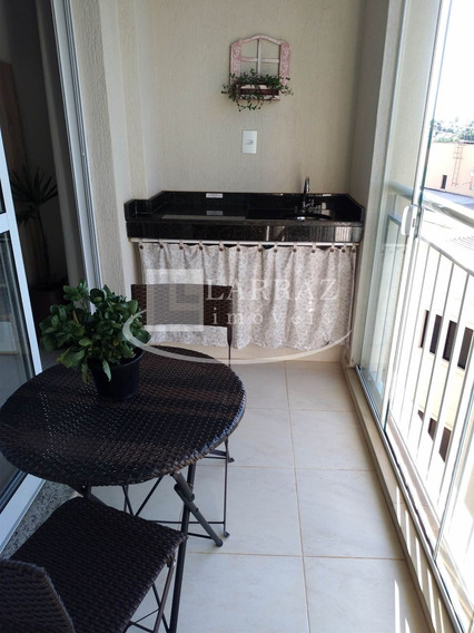 Lindo Apartamento Para Venda No Jardim Botanico, Fino Acabamento, 1 Dormitorio, Ampla Varanda Gourmet E 50 M2 De Area Privativa - Ap00867 - 32729615