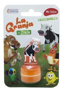 Sellos Con Figuras Granja De Zenon 0631 (3179)