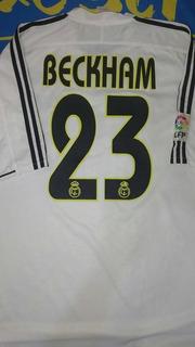 Camiseta De Real Madrid Talle L #23 Beckham