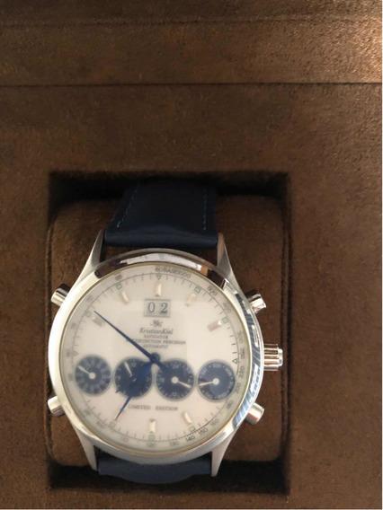 Relógio Kristian Kiel Kk7087 Original Azul