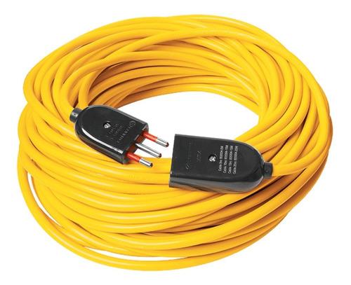 Alargue Electrico 10 Amper Cable 25 Metros Ficha 3 En Linea