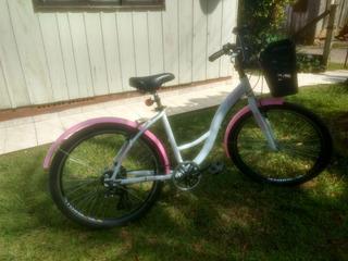 Bicicleta Woie Feminina Urbana, 6 Velocidades
