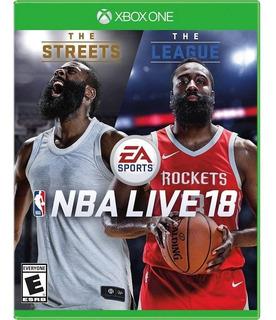 Nba Live 18 Xbox One Videojuego Envió Gratis Nuevo Sellado