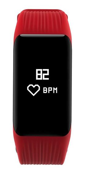 Mgcool Band 3 Ip68 Smatwatch Pulsera Inteligente-rojo