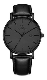 Vigor Rigger Unisex Ultra Thin Unique Men Reloj De Cuarzo Bl