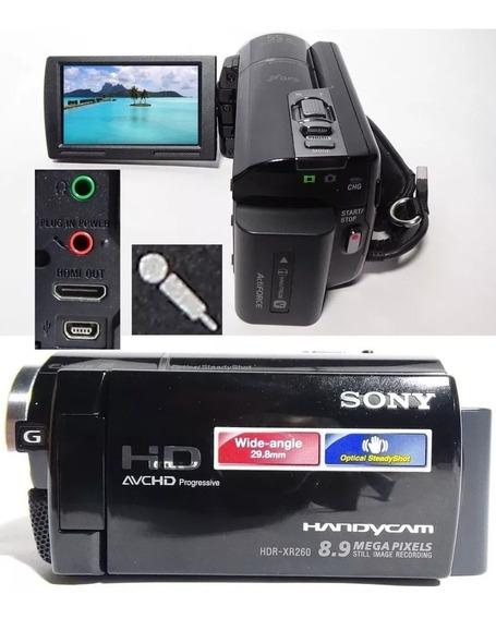 Filmadora Sony Hdr-xr260v