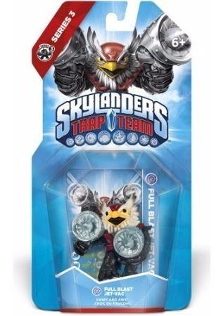 Skylanders Trap Team Full Blast Jet Vac Novo Lacrado