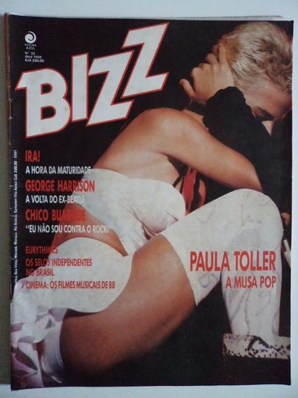 Revista Bizz N 33 - Abril De 1988