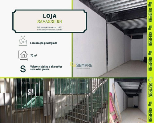 Imagem 1 de 11 de Loja Para Alugar, 70 M² - Savassi - Belo Horizonte/mg - Lo0101