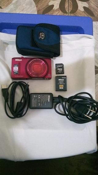 Câmera Nikon S9500 22x Zoom Full Hd **** Sem Filtro Ir*****