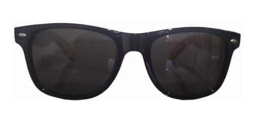 Imagem 1 de 3 de Óculos De Sol Madeira Bambu Uv400 Unissex Dreams Logo