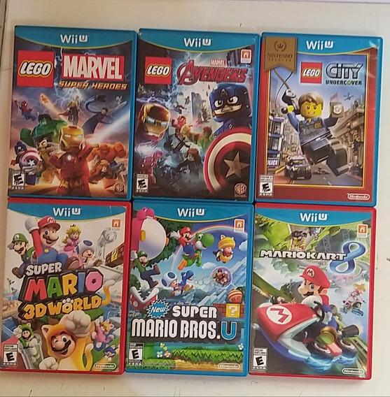 Jogos Originais Nintendo Wii U